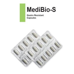 MediBio-S Gastro Resistant Capsules (2x10's)