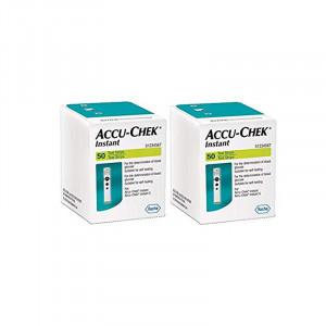 Accu-Chek Instant Test Strips 100's (2x50's ) Pack