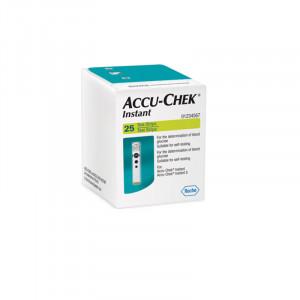 Accu-Chek Instant Test Strip (25's )